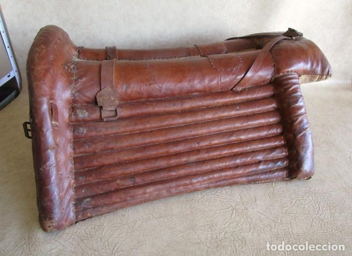 Antigüedades: antigua silla o montura de caballo - Foto 9 - 179318017