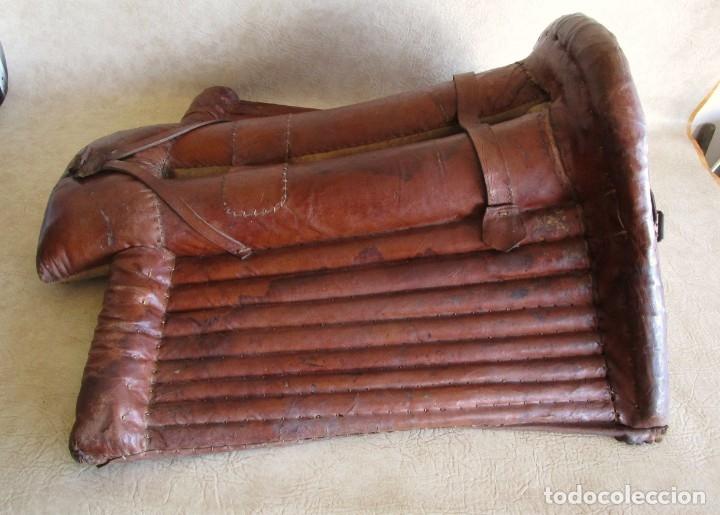Antigüedades: antigua silla o montura de caballo - Foto 11 - 179318017