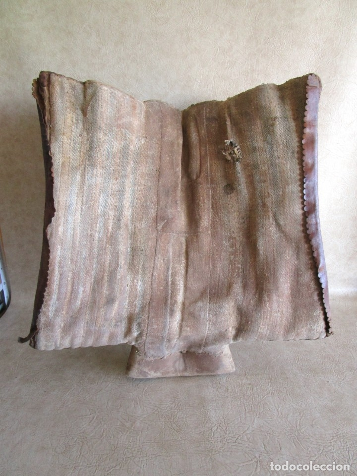 Antigüedades: antigua silla o montura de caballo - Foto 14 - 179318017