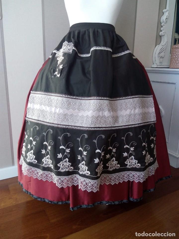 DELANTAL PARA TRAJE REGIONAL (Antigüedades - Moda y Complementos - Mujer)