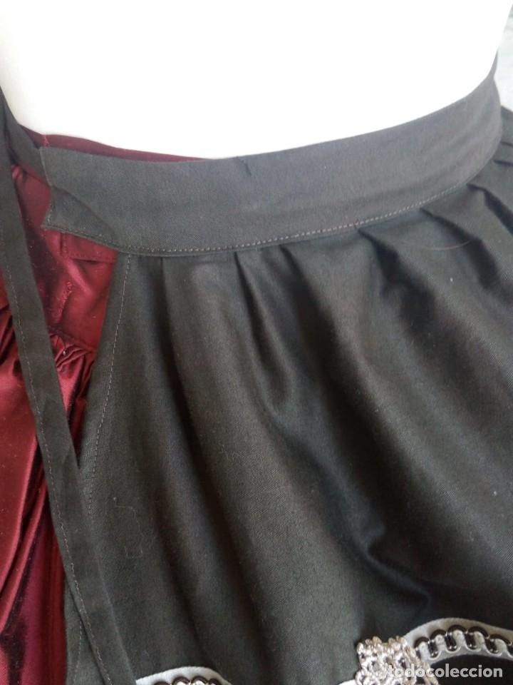 Antigüedades: Delantal para traje regional - Foto 4 - 179327802