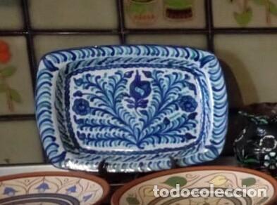 ESTUPENDA FUENTE FAJALAUZA. (Antigüedades - Porcelanas y Cerámicas - Fajalauza)