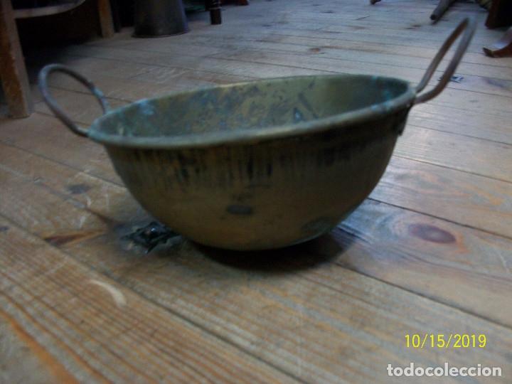 Antigüedades: ANTIGUA PEROLA-PEROL DE COBRE - Foto 3 - 179333761