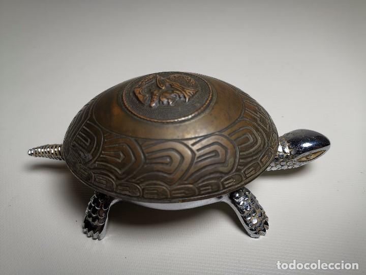Antigüedades: ANTIGUO TIMBRE TORTUGA sobremesa despacho recepcion....MARCA BOJ.(EIBAR) A CUERDA - Foto 26 - 179334916