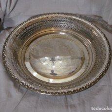Antigüedades: BANDEJA DE PLATA MACIZA .925 MLS (CON CONTRASTES). PLATA TRABAJADA. MEXIA - CÁDIZ. Lote 179384128