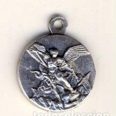 Antigüedades: SAN MIGUEL ARCANGEL Y SACRE COEUR.- MONTMARTRE.- PARÍS. .- 14 MM DIÁMETRO. Lote 179389022