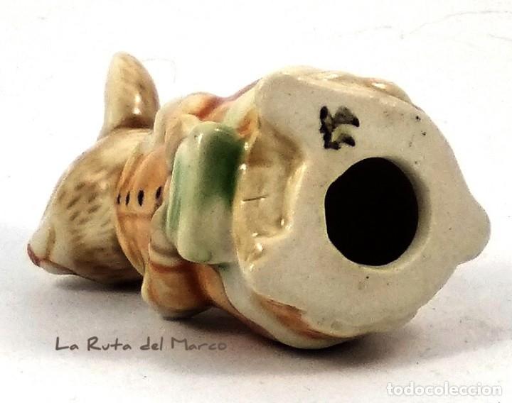 Antigüedades: Golden Rose Giftware - Conejita - Figura de porcelana - Pintada a mano - Alemania - Años 60 - Foto 7 - 179395320
