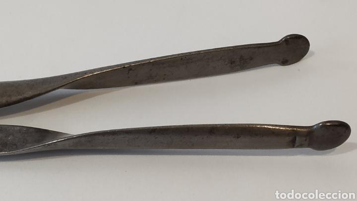 Antigüedades: Pinzas antiguas. Herramienta antigua siglo XIX. - Foto 6 - 179396467