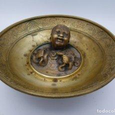 Antigüedades: PLATO DE BRONZE. Lote 202544611