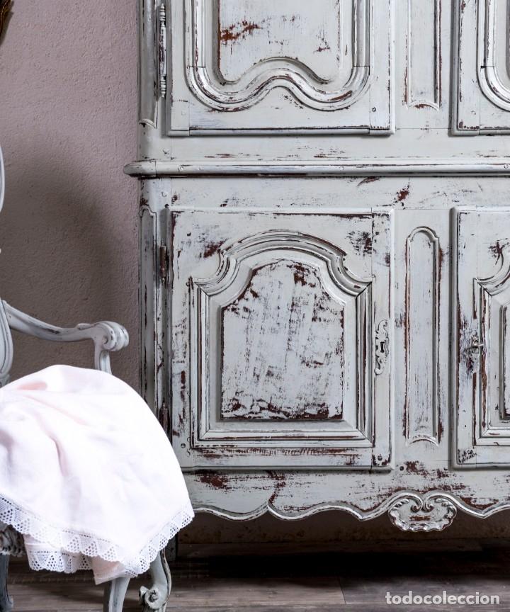 Antigüedades: Armario Antiguo Francés Restaurado Donatien - Foto 4 - 179520981