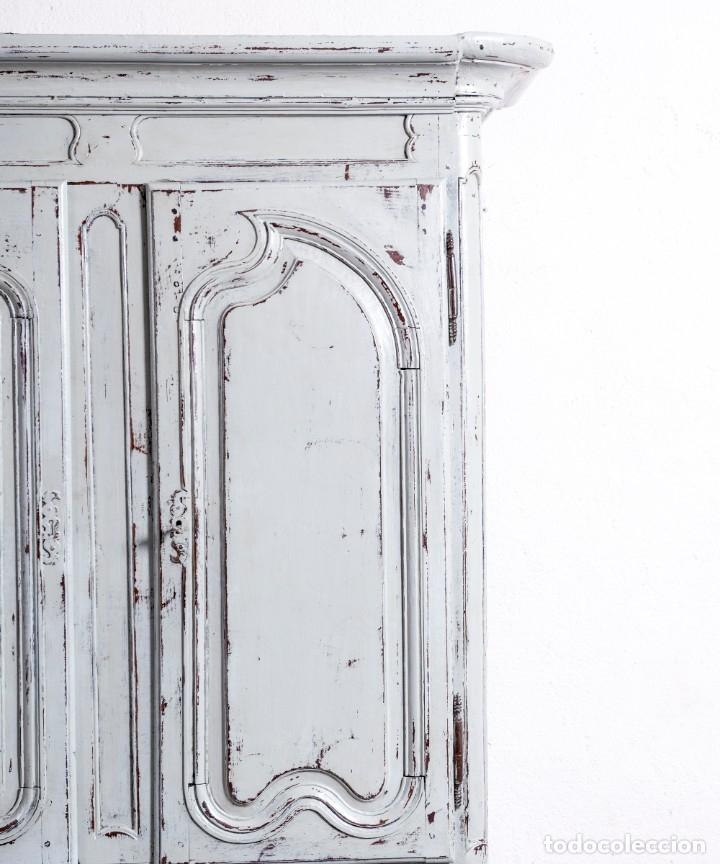 Antigüedades: Armario Antiguo Francés Restaurado Donatien - Foto 5 - 179520981