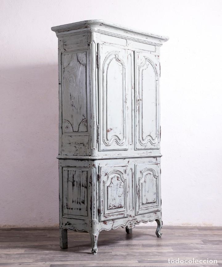 Antigüedades: Armario Antiguo Francés Restaurado Donatien - Foto 6 - 179520981