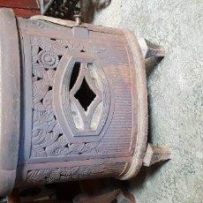 Antigüedades: ANTIGUA ESTUFA DE HIERRO COLADO. Lote 179522000