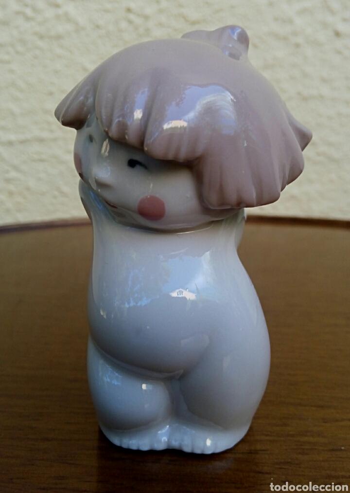 Antigüedades: Ángel - Querubin de porcelanas Nao/Lladro. Año 2003. - Foto 2 - 179530162