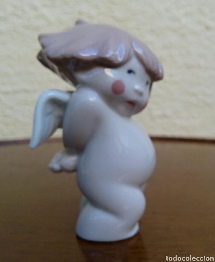 Antigüedades: Ángel - Querubin de porcelanas Nao/Lladro. Año 2003. - Foto 4 - 179530162