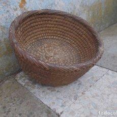 Antigüedades: ANTIGUO ESCRIÑO DE PAJA DE CENTENO. Lote 179553390
