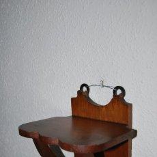 Antigüedades: PEQUEÑA MÉNSULA DE MADERA - BALDA - REPISA - AÑOS 40. Lote 179884917