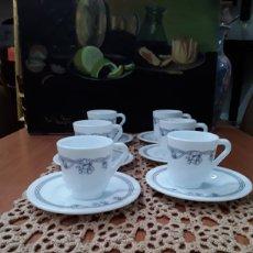 Antigüedades: JUEGO DE CAFÉ,HARMONIA. Lote 179903492