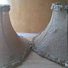 Antigüedades: PANTALLAS LAMPARA. Lote 179943436
