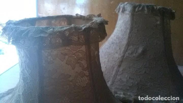 Antigüedades: PantallAs lampara - Foto 4 - 179943436
