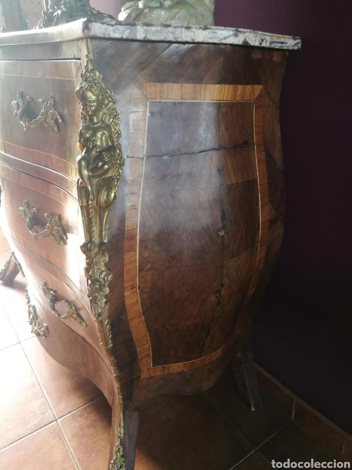 Antigüedades: Cómoda Luis XV .siglo XVIII - Foto 5 - 179954735