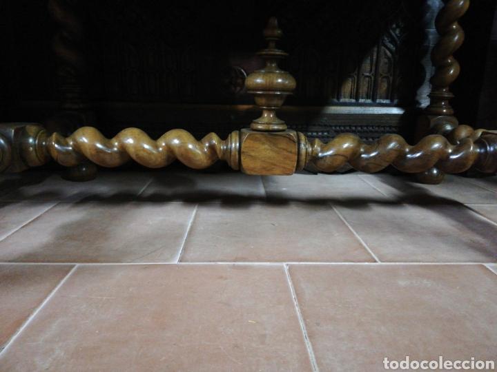 Antigüedades: Mesa nogal restaurada - Foto 5 - 180011957