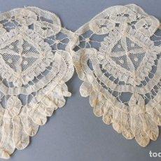 Antigüedades: ANTIGUO ENCAJE BRUJAS S. XIX. Lote 180023407