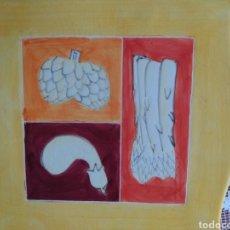 Antigüedades: PLATO ( PORCELANA SILEA , DECORATIVO ). MÁS PORCELANAS ANTIGUAS EN MI PERFIL.. Lote 180032617