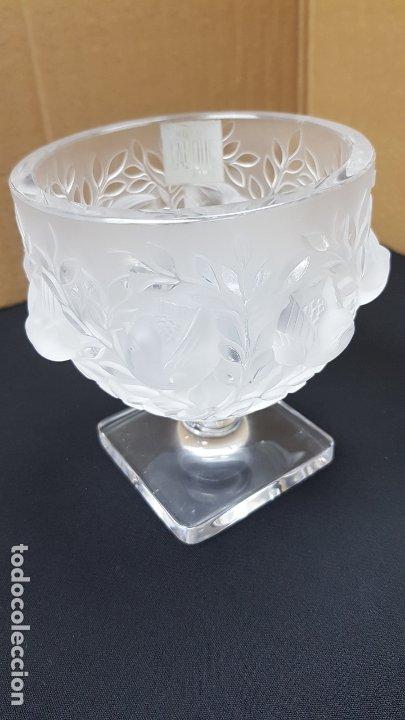 VASO COPA LALIQUE ELISABETH AUTENTICA Y PERFECTA (Antigüedades - Cristal y Vidrio - Lalique )