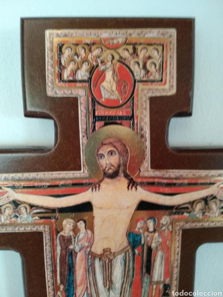 Antigüedades: Crucifijo - Foto 2 - 180083501