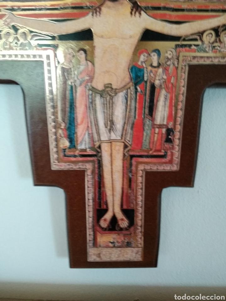 Antigüedades: Crucifijo - Foto 3 - 180083501