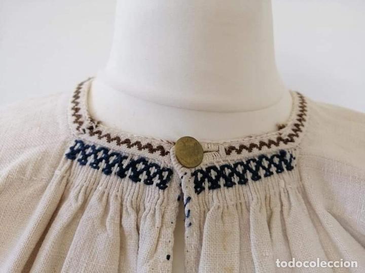 Antigüedades: Camisa zamorana - Foto 2 - 180086772