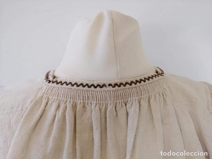 Antigüedades: Camisa zamorana - Foto 3 - 180086772
