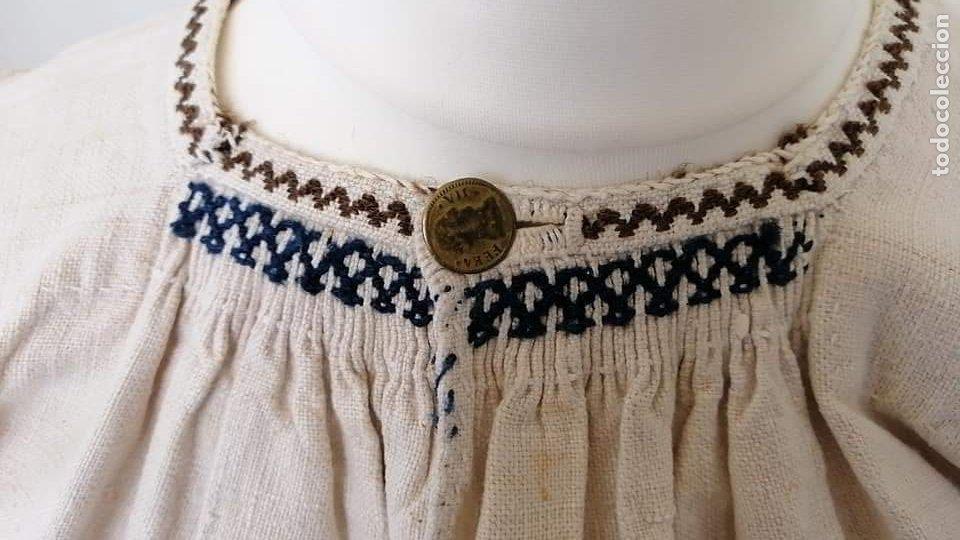 Antigüedades: Camisa zamorana - Foto 4 - 180086772