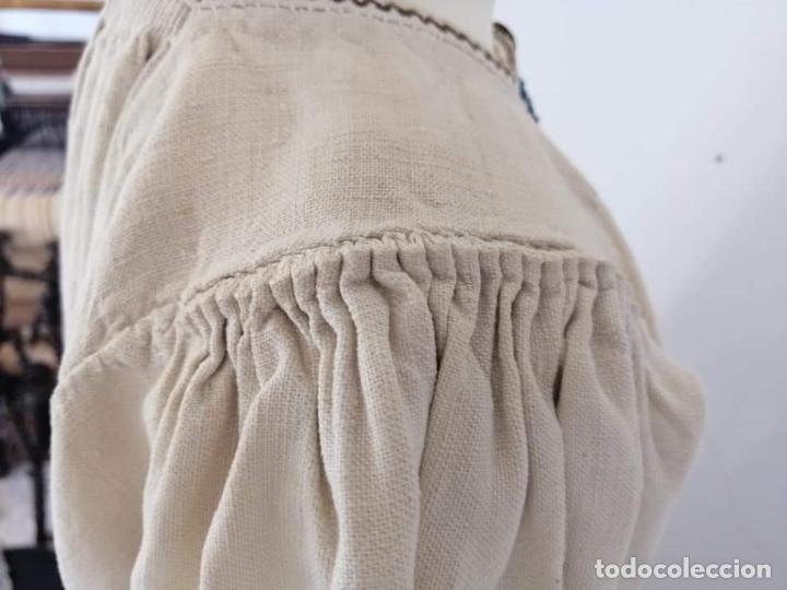Antigüedades: Camisa zamorana - Foto 5 - 180086772