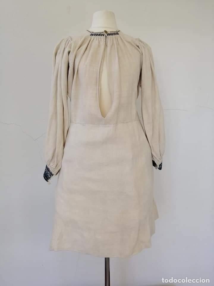 CAMISA ZAMORANA (Antigüedades - Moda y Complementos - Mujer)