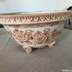 Antigüedades: ANTIGUA ENSALADERA CUENCO GRANDE DE CASES. MANISES. ANTIGUO.. Lote 180110518