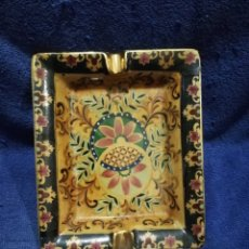 Antigüedades: CENICERO PORCELANA. Lote 180117095