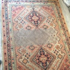 Antigüedades: ALFOMBRA ANTIGUA 200X136 CMS. Lote 180118026