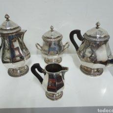 Antigüedades: JUEGO ANTIGUO DE CAFÉ.. Lote 180120385
