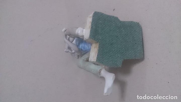 Antigüedades: Niño con pájaros cerámica GALOS 30x20ctms. 2200gamos - Foto 2 - 180147711
