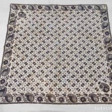 Antigüedades: ANTIGUA INDIANA. PAÑUELO ESTAMPADO. Lote 180153252