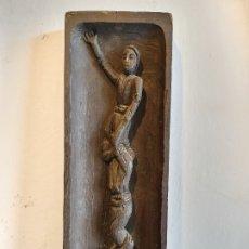Antigüedades: TALLA DE CASTELLER DE CAN ROMEU. Lote 180163950
