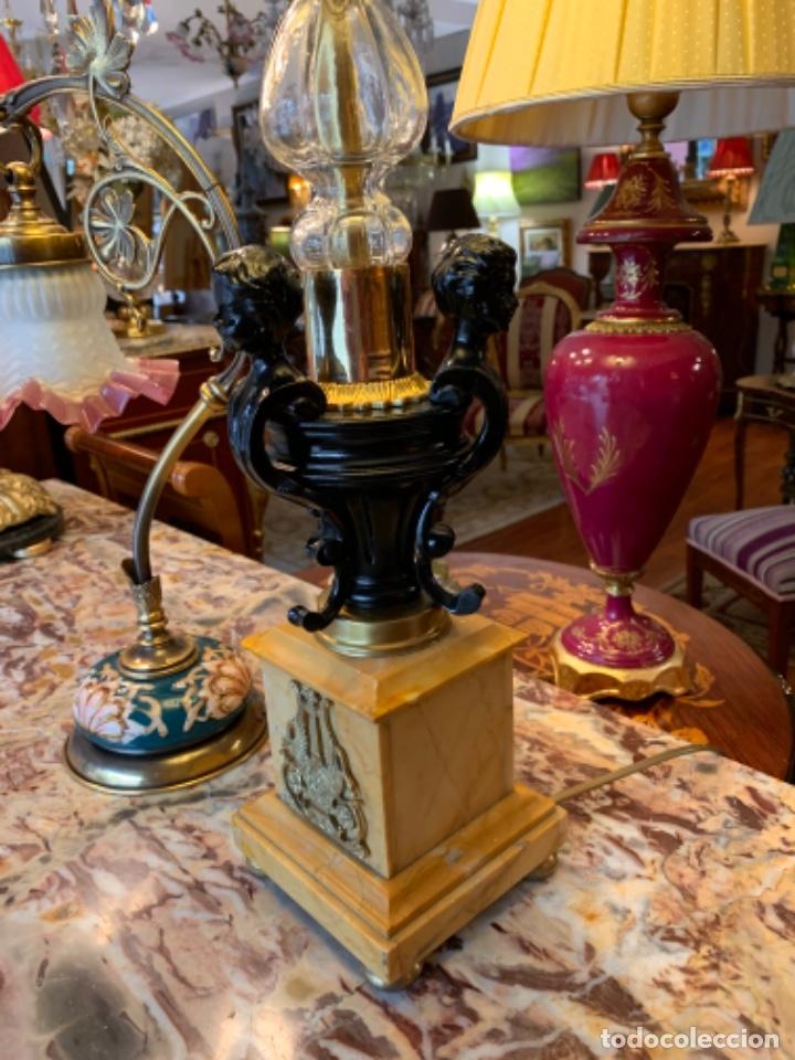 Antigüedades: Soberbia lámpara antigua - Foto 4 - 180165922