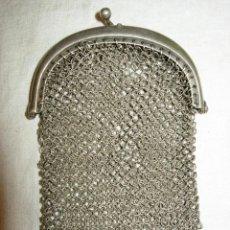 Antigüedades: MONEDERO DE SEÑORA, ANTIGUO PLATA DE LEY O PARECE TOTALMENTE. Lote 180168758