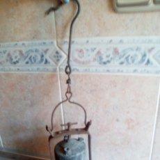 Antigüedades: LAMPARA DE CARBURO SIGLO XIX . Lote 180170082