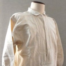 Antigüedades: ANTIGUA CAMISA DE LINO GRUESO PARA CABALLERO INDUMENTARIA S. XIX. Lote 180172597