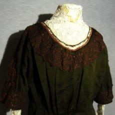 Antiquités: ANTIGUA CHAMBRA DE PAÑO Y ENCAJE - S.XIX. Lote 180182077