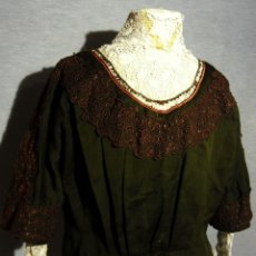 Antigüedades: ANTIGUA CHAMBRA DE PAÑO Y ENCAJE - S.XIX. Lote 180182077