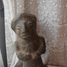 Antigüedades: FIGURA PRECOLOMBINA EN PIEDRA. Lote 180184043
